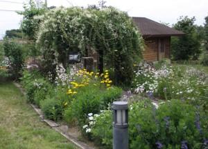 八ヶ岳カントリーガーデンの施工事例:花壇
