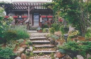 八ヶ岳カントリーガーデンの施工事例:パーゴラ