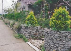 八ヶ岳カントリーガーデンの施工事例:壁・ウォール・石組み